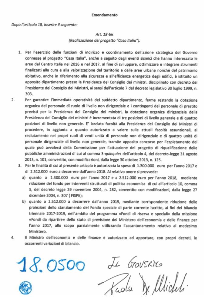 CASA_ITALIA_EMENDAMENTO_DL_SISMA_21_03_2017